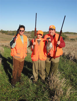 Iowa Youth Pheasant Hunt
