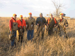 Group Pheasant Hunt