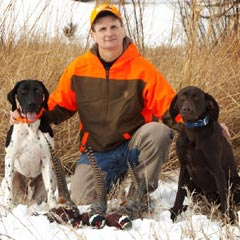 Hunting Preserve Guide Blake Boyer