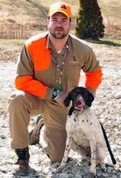 Hunting Preserve Guide Scott Barron