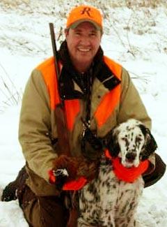 Hunting Preserve Guide Wade Kisner