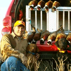 Hunting Preserve Guide Wes Boothe