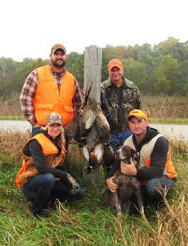 Family Pheasant Hunt 2013