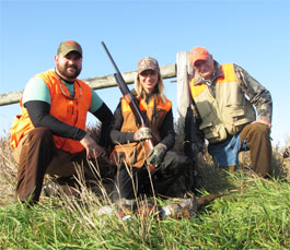 Family Pheasant Hunt
