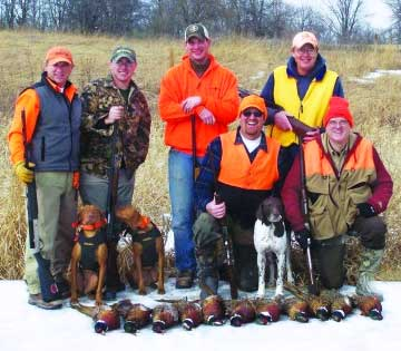 Highland Pheasant Hunting Corridor Business