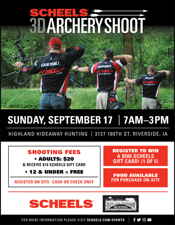 Scheels 3D Archery Shoot